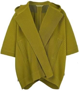Issey Miyake Homme Plissé pleated hooded jacket