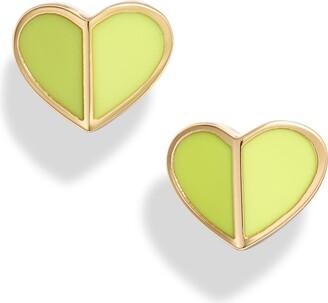 Kate Spade New York Heart Stud Earrings
