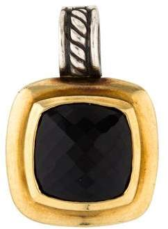 David Yurman Two-Tone Onyx Albion Pendant