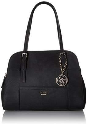GUESS Huntley Cali Satchel-Black $118 thestylecure.com
