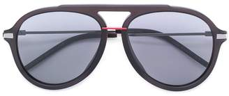 Fendi Eyewear thick frame aviator sunglasses