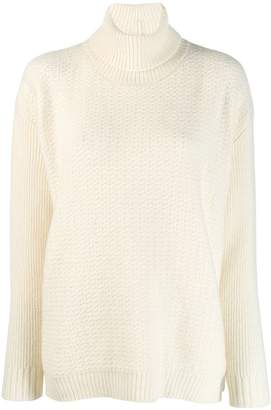 Marni oversized turtleneck jumper