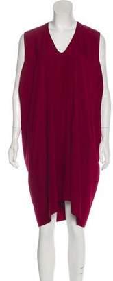 Zero Maria Cornejo Silk-Blend Knee-Length Dress