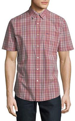 Dockers Plaid Cotton Sport Shirt