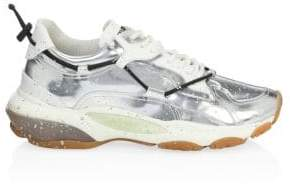 Valentino Metallic Splatter Bounce Sneakers