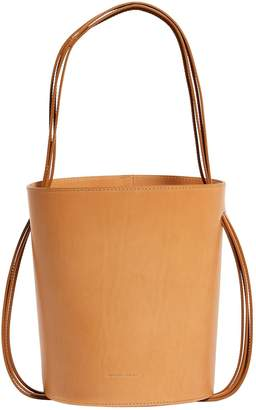 Mansur Gavriel Leather Fringe Bucket Bag