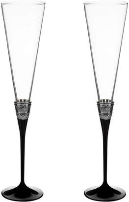 Vera Wang Wedgwood Vera Wang With Love Toasting Flutes (Set of 2)