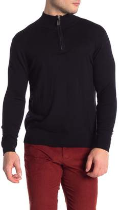 Tailorbyrd Wool Blend Quarter Zip Pullover