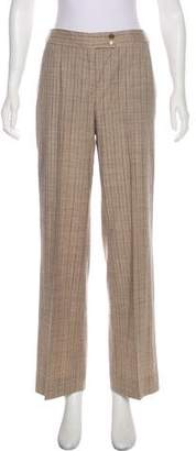 Etro High-Rise Pinstripe Pants
