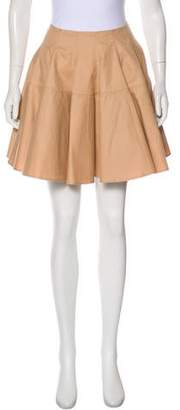 Alaia A-Line Mini Skirt