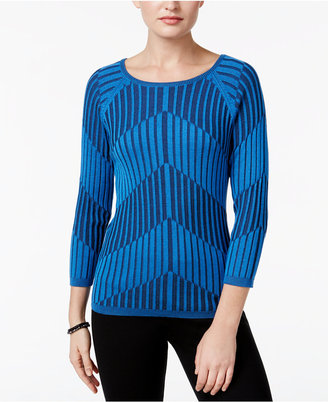 Joseph A Ribbed-Knit Sweater $50 thestylecure.com