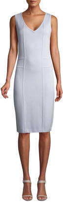St. John Women's Santana Paneled Knit Sheath Dress