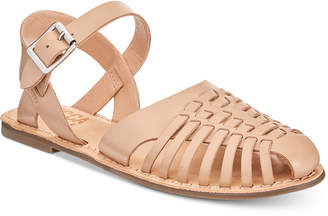 Lucca Lane Hope Woven Flat Sandals Women's Shoes