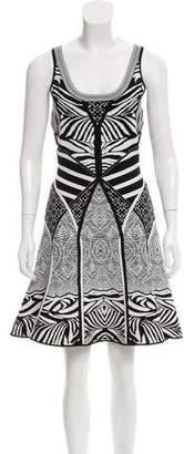Diane von Furstenberg Fanny Intarsia Knit Dress