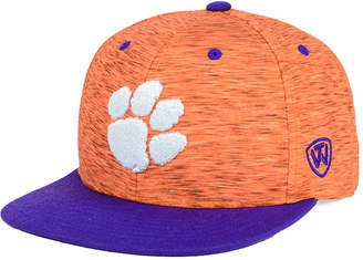 Top of the World Clemson Tigers Energy 2-Tone Snapback Cap