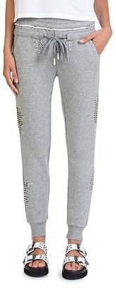 The Kooples Studded Fleece Sweatpants