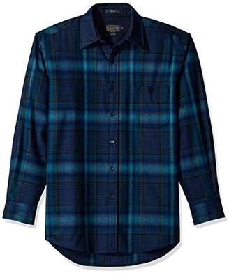 Pendleton Men's Long Sleeve Button Front Classic-fit Trail Shirt