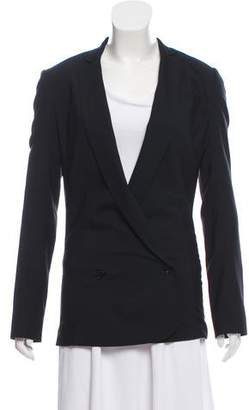 Helmut Lang Double-Breasted Wool Blazer