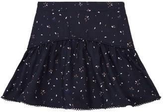 Chloé Floral Twill Skirt