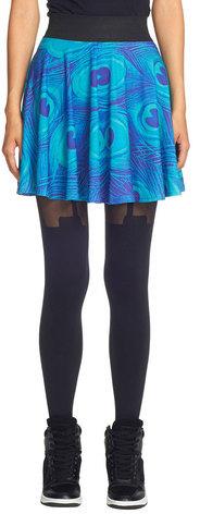 Mr. Gugu & Miss Go Peacock Circle Skirt