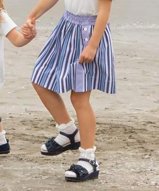 Kumikyoku (組曲) - 組曲KIDS 【110~140cm】ブロッキングストライプ スカート