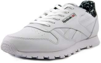 Reebok Classic Leather Animal Youth US 6 White Tennis Shoe