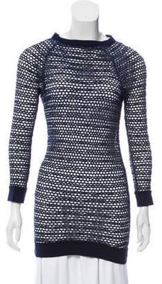 Etoile Isabel Marant Open Knit Long Sleeve Top