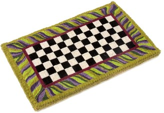 Mackenzie Childs Courtly Check Entrance Mat