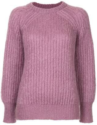 Le Ciel Bleu long sleeved knit top
