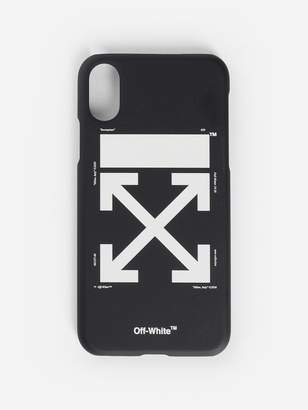 Off White C/O Virgil Abloh BLACK AND WHITE ARROW IPHONE X CASE