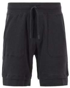 BOSS Hugo Loungewear shorts in cotton jersey layered hems M Black