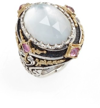 Women's Konstantino Nemesis Mother Of Pearl Ring $1,340 thestylecure.com