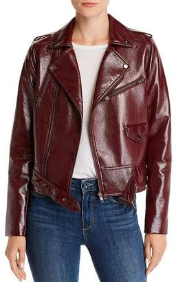 Parker Cooper Faux-Leather Moto Jacket