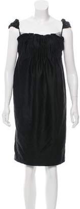 Marc Jacobs Sleeveless Cashmere Dress