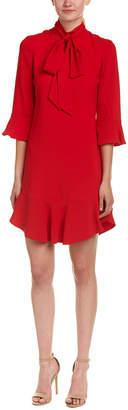 Karen Millen Ruffle Shift Dress