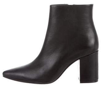 Anine Bing Pointed-Toe Ankle Boots