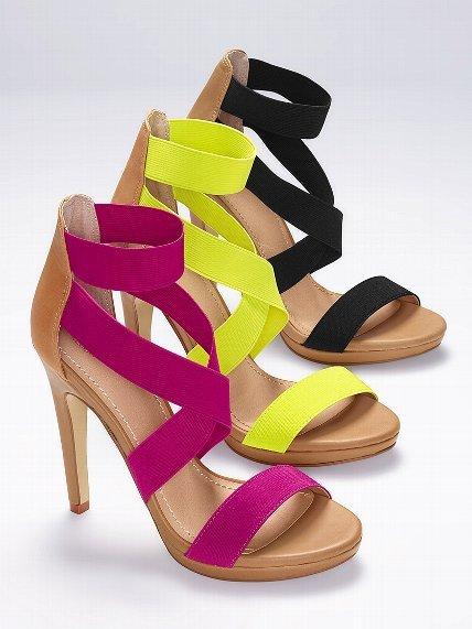 Victoria's Secret Collection Elastic Strap Sandal