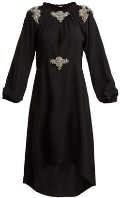 Dodo Bar Or - Marisa Crystal Embellished Stretch Crepe Dress - Womens - Black