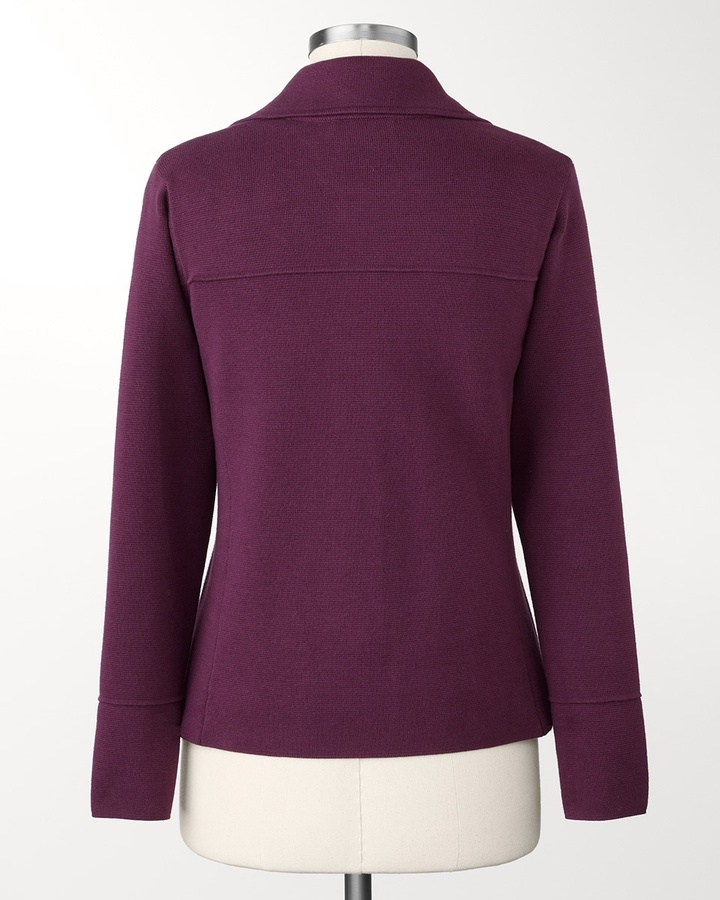 Coldwater Creek Sweater knit jacket