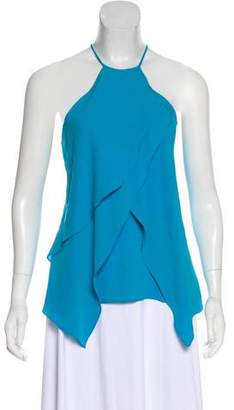 Yigal Azrouel Silk Crepe Blouse