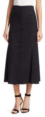 A.L.C. Amelie Linen A-Line Skirt