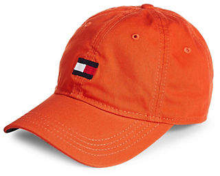 Tommy Hilfiger Embroidered Cotton Baseball Cap