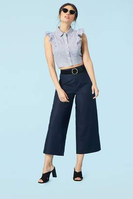 Forever 21 High-Waist Gaucho Pants