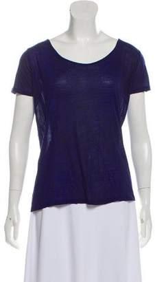 The Kooples Short Sleeve Printed Top