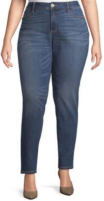 ST. JOHN'S BAY Secretly Slender Skinny Jean - Plus