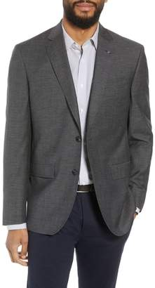 Ted Baker Jay Trim Fit Heathered Wool & Cotton Sport Coat
