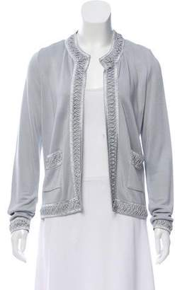 Lucien Pellat-Finet Embellished Open Front Cardigan