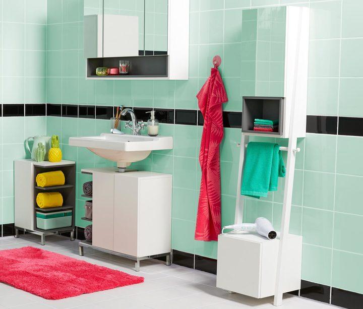 Spiegelschrank mit Handtuchhalterung «Vario-Look«