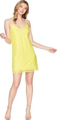 Jack by BB Dakota Junior's Jemma Geometric Lace Slip Dress