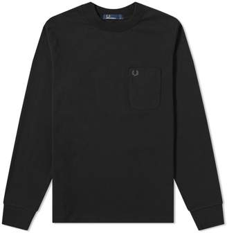 Fred Perry Authentic Long Sleeve High Neck Tee